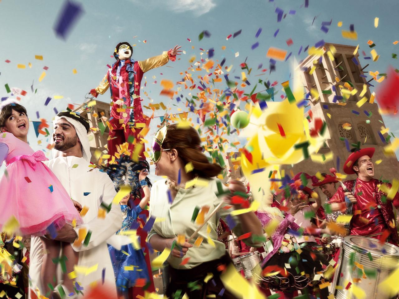 Летний фестиваль в дубае 2014 дом в эмиратах Абу Даби Sweihan