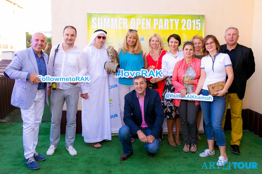 ART-TOUR Summer Open Party 2015